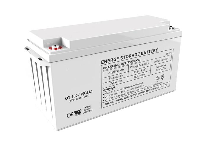 Batería solar 250Ah de GEL 12V