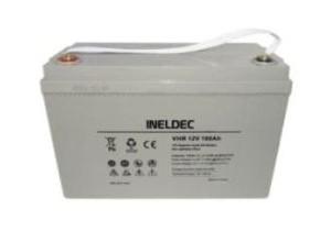 Bateria solar 100AH 12V GEL AGM ineldec 4