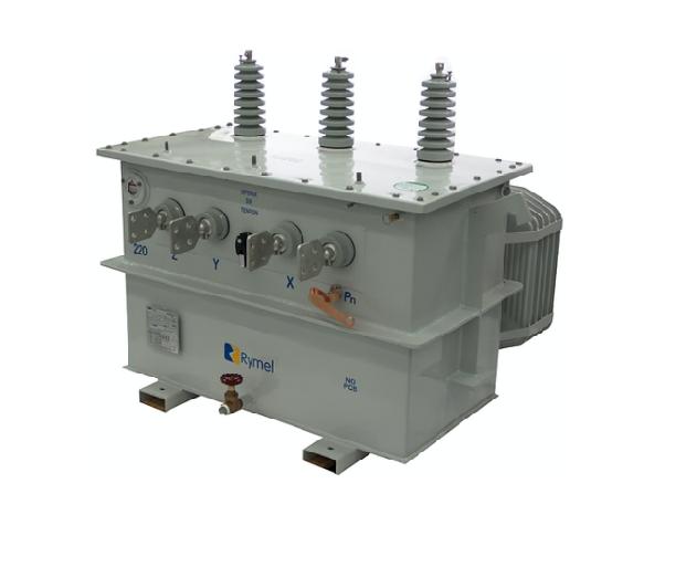 Transformador Trifasico Convencional 15 kVA Rymel Magnetron