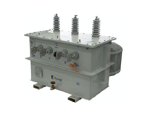 Transformador Trifasico Convencional 225 kVA Rymel Magnetron