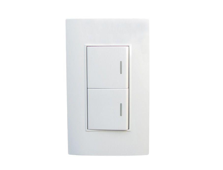 Interruptor doble conmutable