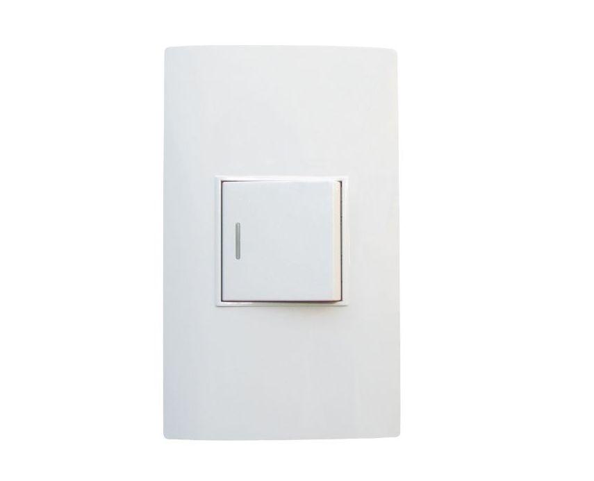 Interruptor sencillo conmutable