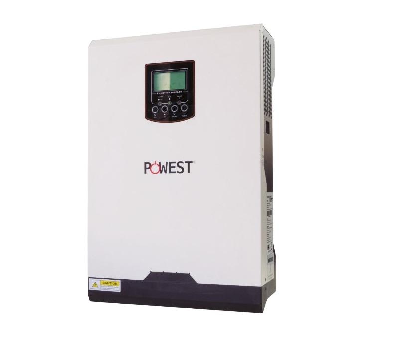 Inversor solar 1kVA Onda Pura híbrido Powest