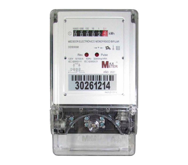 Medidor Monofásico Contador Electrónico