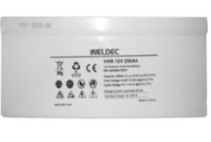 Batería Solar 200 Ah AMP GEL AGM Para paneles solares ineldec seca 6
