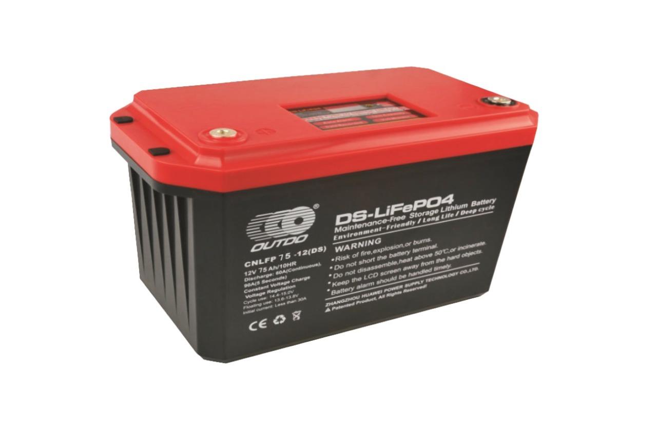 Batería de Litio LIFEPO4 75Ah 12V