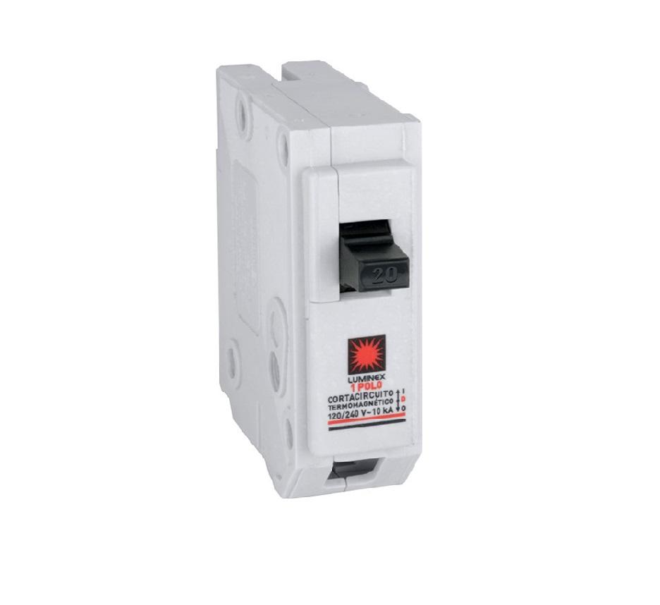 Breaker 20A Eléctrico Interruptor termomagnético enchufable
