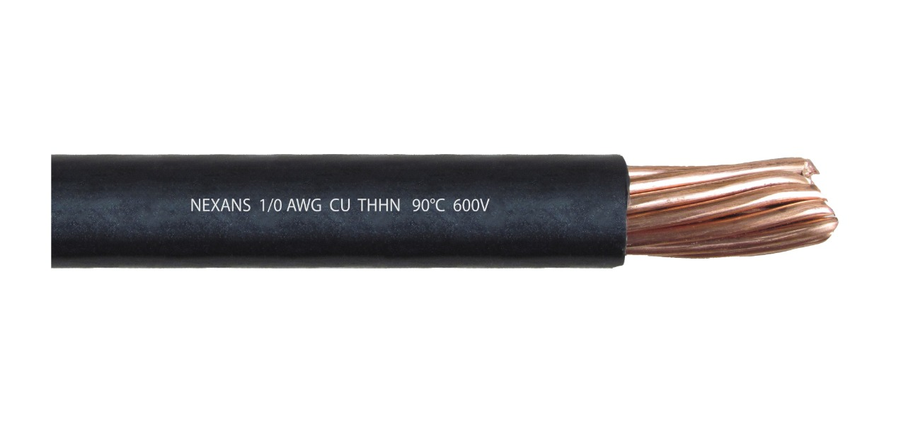 Cable 1/0 AWG THHN Cu 90°C