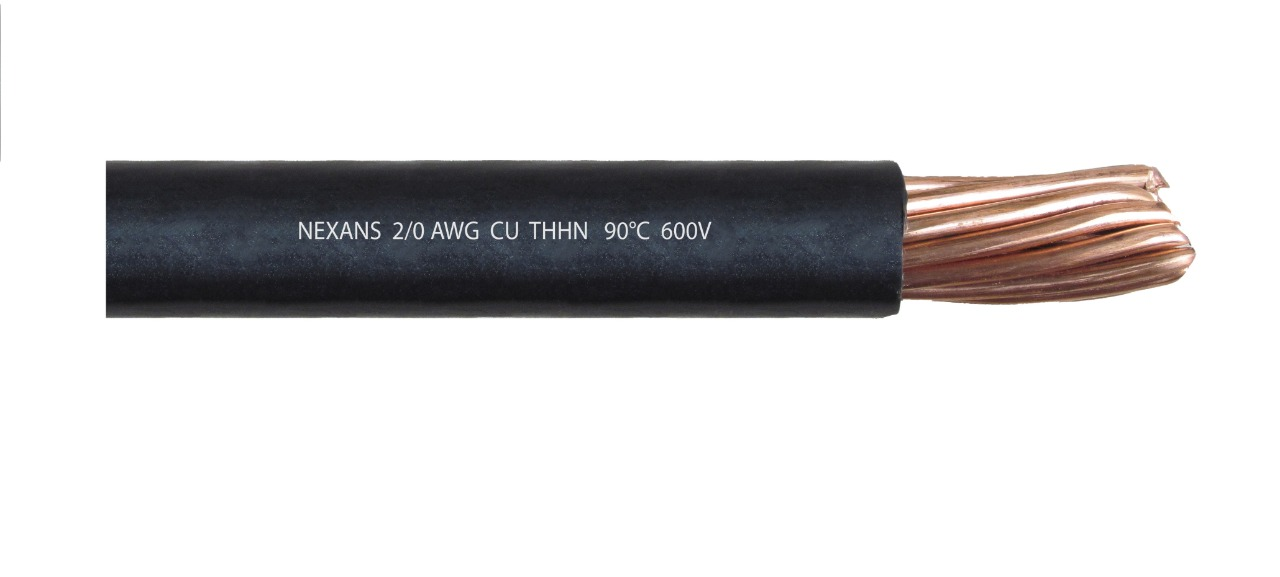 Cable 2/0 AWG THHN Cu 90°C