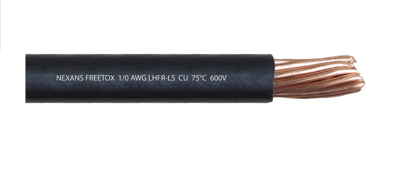 Cable 1/0 AWG LSHF