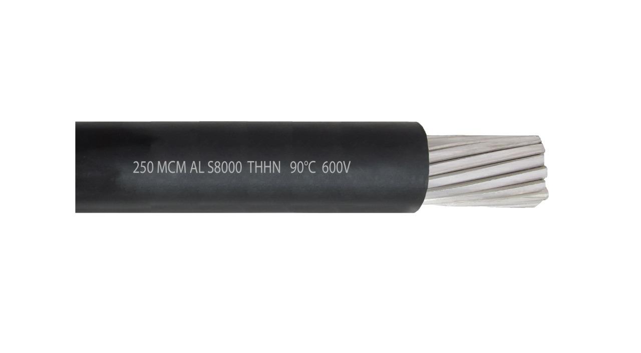 Cable 250 MCM AL S8000 THHN 90°C