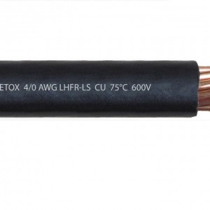 Cable 4 0 AWG CU LSHFR 2