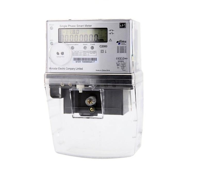 Medidor bidireccional monofásico Microstar C2000