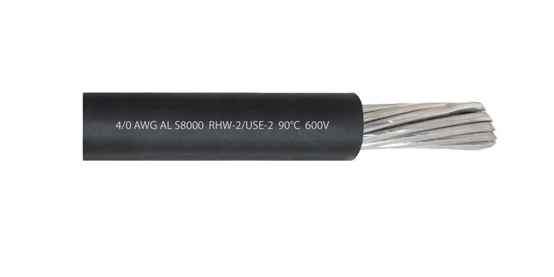 Cable 4/0 AWG RHW-2 AL S8000