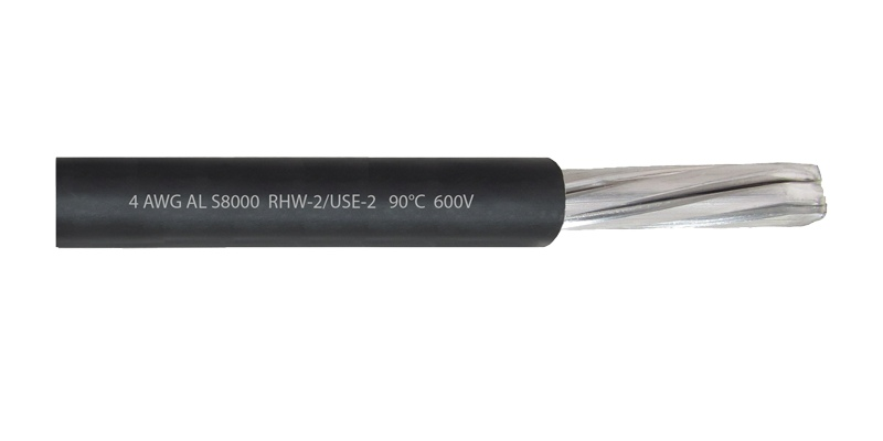 Cable 4 AWG RHW-2 AL S8000