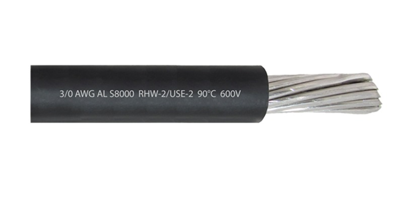 Cable 3/0 AWG AL S8000 RHW-2 USE-2