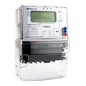 Medidor trifasico P2000 P2000D Microstar 480V 440V 160A Activa Reactiva Electronico